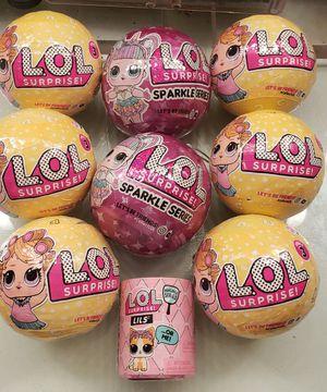 LOL Surprise! Dolls/Balls/Babies for Sale in San Antonio, TX