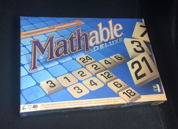 NEW and SEALED Mathable Game