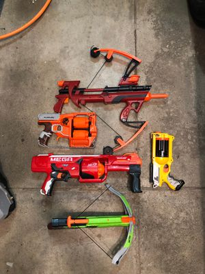 Various nerf guns for Sale in Gahanna, OH