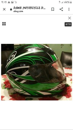 Hawk motorcycle helmet for Sale in Newark, OH