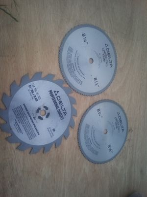 New table saw blades for Sale in Vancouver, WA