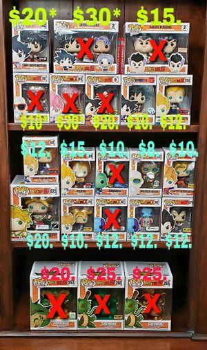 Dragonball Z Dragonball Super Funko Pop for Sale in Chandler, AZ