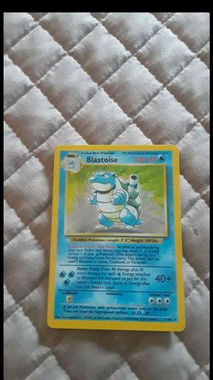 Blastoise pokemon card for Sale in Phoenix, AZ