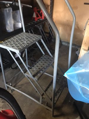 Metal Industrial Ladder for Sale in Highland, CA