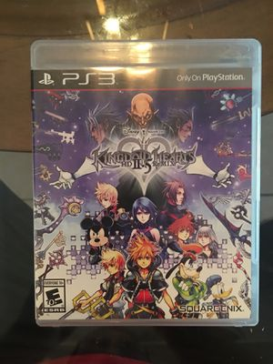 Ps3 kingdom hearts II.5 for Sale in Visalia, CA