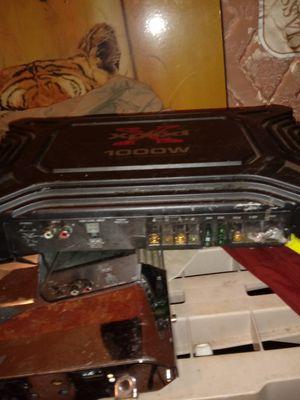 Sony Xplod 1000 watt amp for Sale in Knoxville, TN