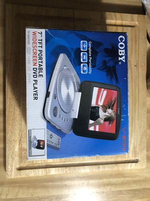 COBY PORTABLE DVD PLAYER for Sale in Raleigh, NC