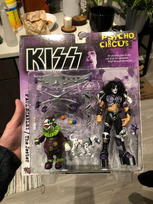 1998 Kiss Psycho Circus Paul Stanley with Jester by McFarlane Toys for Sale in Alexandria, VA