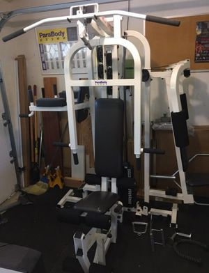 Parabody EX500 Multi Station Gym with tons of extras! for Sale in Troy, MI