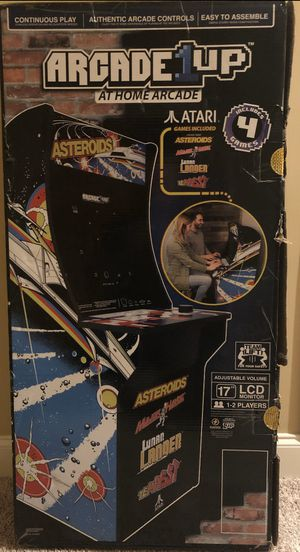 Arcade1UP Asteroids 4in1 New in the Box for Sale in Naperville, IL
