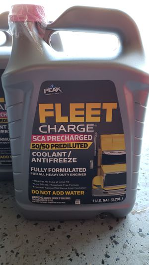 Coolant Fleet Charge 3 Gallons for Sale in Addison, IL