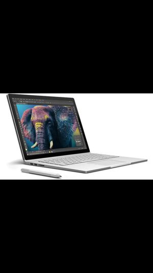 Microsoft surface book intel i7 256 SSD 8GB ram nvidia GeForce graphics for Sale in San Diego, CA