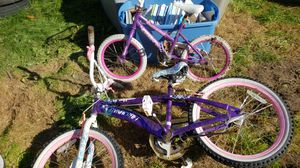Small kid and big girl bikes for Sale in Ravensdale, WA
