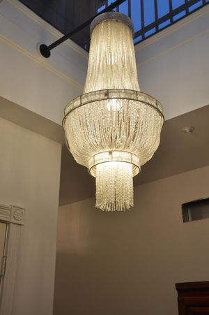French Art Deco/Gatsby style chandelier. for Sale in Alexandria, VA