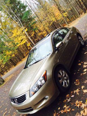 2008 Honda Accord V6 Ex-L for Sale in Monroe, MI