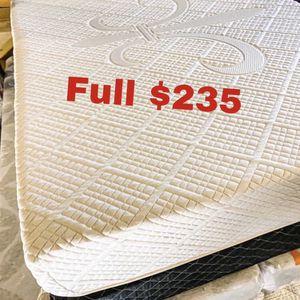 💥Brand new Blue Gel Memory Foam Mattress💥 Queen Mattress only-$260 Mattress & box spring-$320 Full Mattress only-$235 Mattress & box spring-$295 for Sale in Universal City, CA