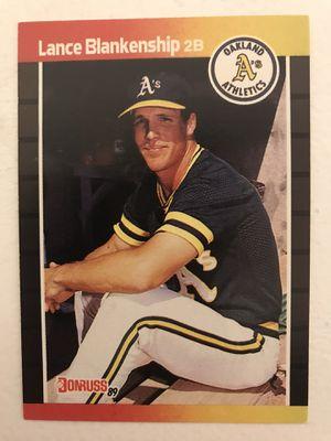 Baseball card lance Blankenship for Sale in Nashville, TN