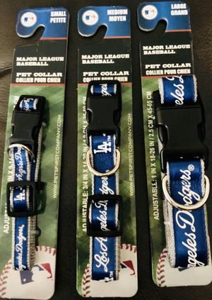 Dodger dog collar - New for Sale in Los Angeles, CA