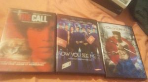 """Movies for sell- """"The Call"""" """"Now You See Me Too"""" and """"The Wolverine"""" for Sale in Ada, OK"""