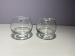 Votive Candle Holders Crate and Barrel Krosno Glass (2) for Sale in Cheverly, MD
