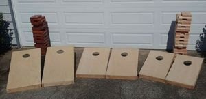 Hand made Cornhole boards for Sale in Vancouver, WA