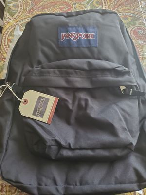 Jansport backpack black for Sale in East Meadow, NY