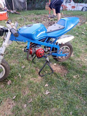 Custom mini pocket rocket. Chopper / brand new big bore motor for Sale in Flint, MI
