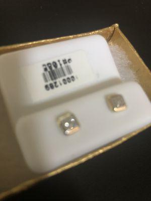 Real Gold & Diamond Earrings for Sale in Berkeley, CA