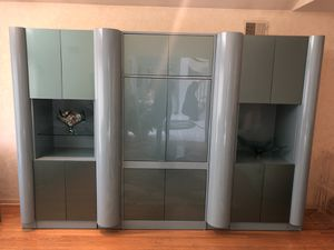 MIDCENTURY MODERN WALL UNIT ENTERTAINMENT CENTER HI END for Sale in Warren, NJ