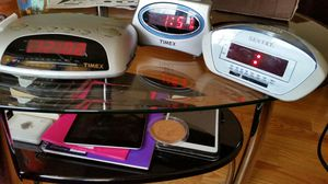 3 Alarm clocks. 2 Timex, and 1 Sentry for Sale in Yonkers, NY