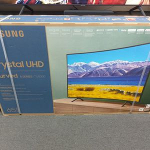"""65"""" Samsung Curved 8 Series 4k Hdr Uhd Smart Tv for Sale in Pomona, CA"""