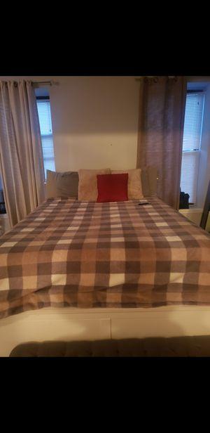 IKEA BED FRAME QUEEN for Sale in Newark, NJ
