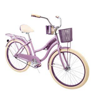 🎀Brand New & Still in the BOX 📦 Nel Lusso™ 🎀Women's Cruiser Bike, 🌸Purple, 24-inch for Sale in Miami, FL