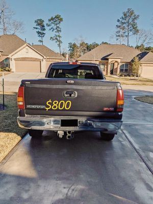$8OO🔥 Very nice 🔥 2003 Gmc Sierra Truck Runs and drive very smooth clean title!!!! for Sale in Birmingham, AL