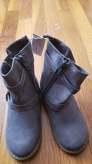 Dark Grey Toddler Boots Size 9 for Sale in Chicago, IL