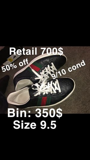 Gucci shoes authentic size 9.5 for Sale in San Diego, CA
