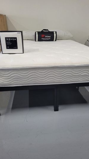 """Brand New 9"""" Plush Orthopedic Pocket Coil Mattress - Twin Full King and Cali King Bed In A Box 📦 for Sale in San Diego, CA"""