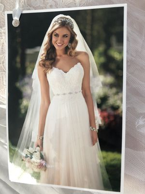 Wedding dress - never worn never altered for Sale in Manchester-by-the-Sea, MA