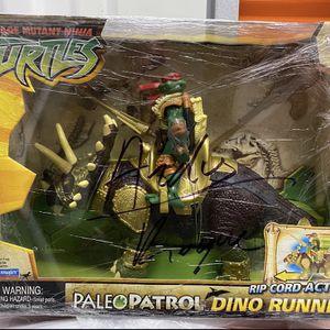 Rare NEW Teenage Mutant Ninja Turtles Dino Runners Triceratops Raphael for Sale in Los Angeles, CA