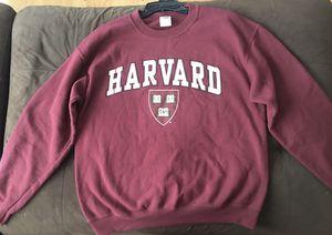Harvard Crimson Men's Crew-Neck Sweatshirt-Maroon Size MEDIUM for Sale in Fountain Valley, CA