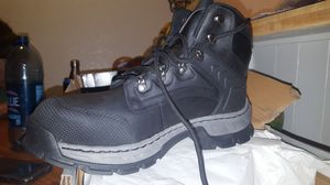 Steel toe work boots $60 FIRM for Sale in Highland, CA