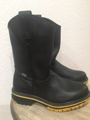 Establo Genuine leather men's work boots size 6 for Sale in Tacoma, WA