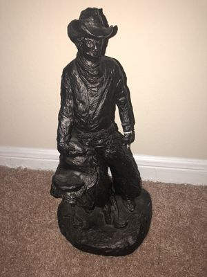 Black cowboy statue for Sale in Birmingham, AL
