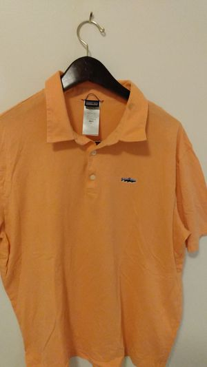 Orange Patagonia polo for Sale in Lowell, MA