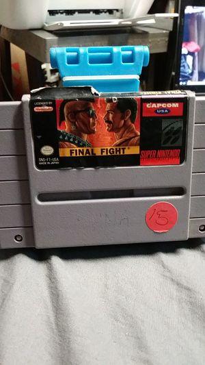 Super Nintendo SNES final fight read description for Sale in Victorville, CA