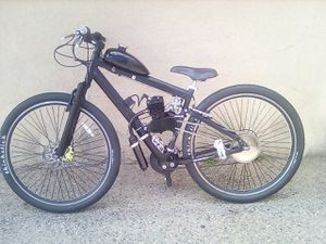 MOTORIZED GENESIS MOUNTAIN BIKE for Sale in Fresno, CA