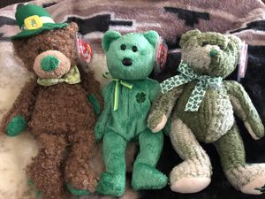 St Patrick beanie babies for Sale in North Las Vegas, NV