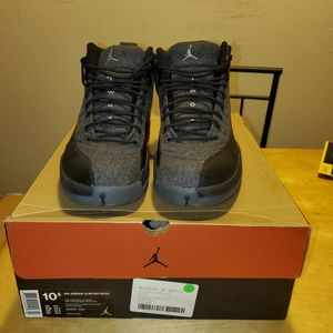 Jordan 12 'Wool' 100% Authentic for Sale in New Hradec, ND