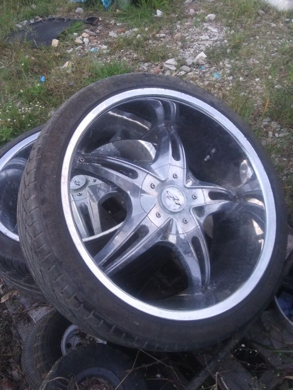 Bzo 22 inch tires and rims