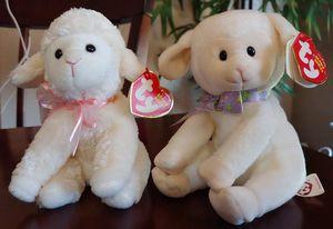 2008 Sheepishly & 2010 Fleecia Ty Beanie Babies for Sale in Kyle, TX